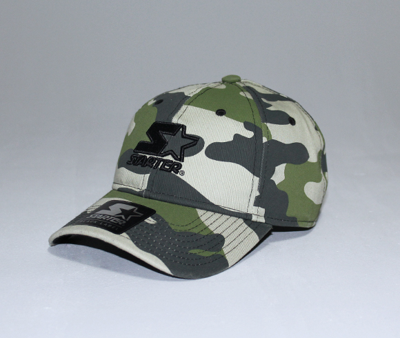 "Starter Black Label release new camo ""Issue Pitcher"" caps"