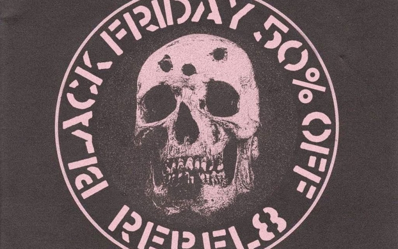 50% off at REBEL8 for Black Friday 2016