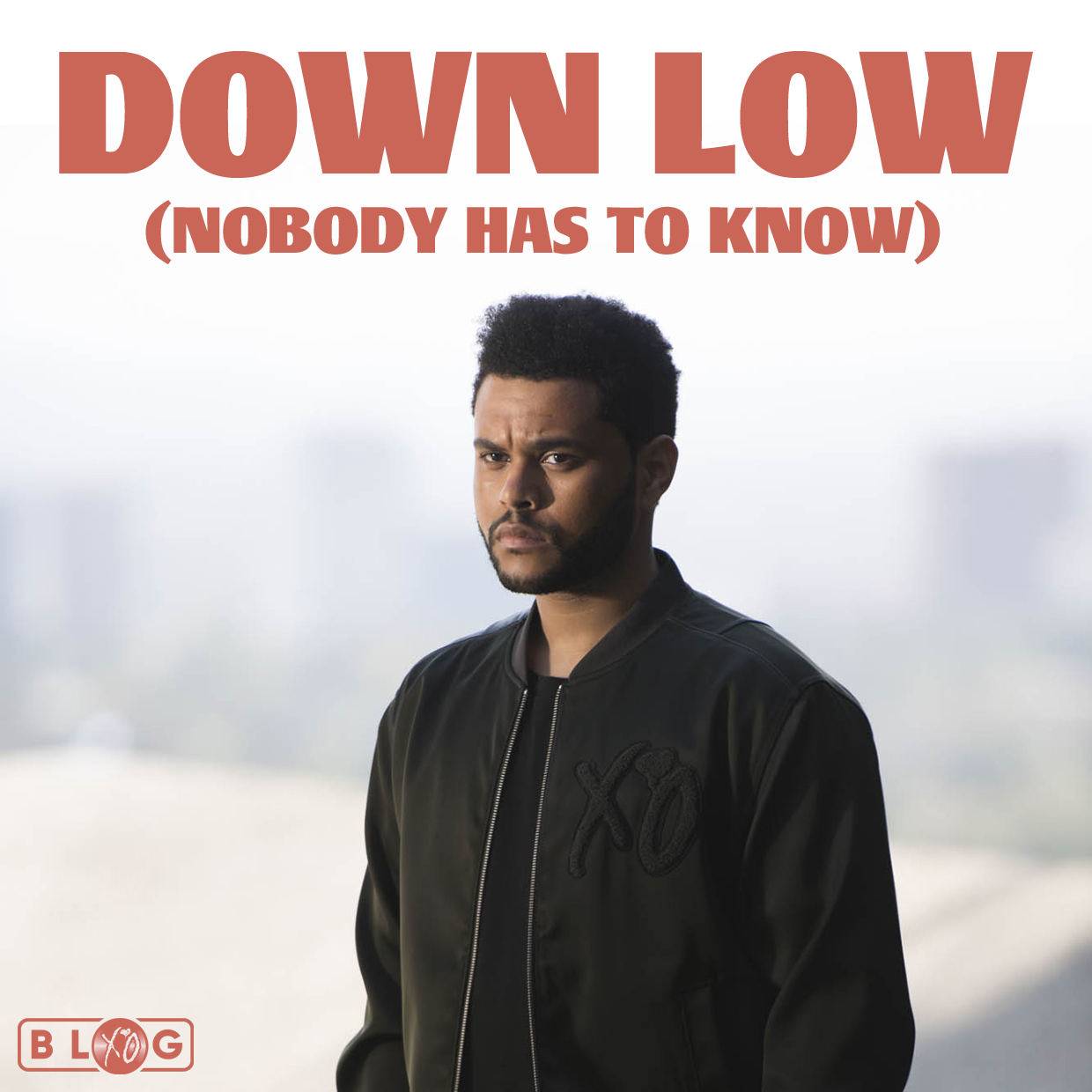 The Weeknd - Down Low (Nobody Has to Know) custom album artwork cover